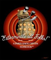 Exterminate All Folks! by angelsaquero