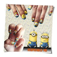 Despicable Me Nail Art by trentsxwife