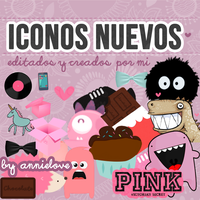 iconos nuevos by annielove by Analaurasam