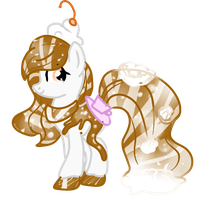 (CLOSED) Root Beer Float HoloCoffee Pony by Angel-Coffee