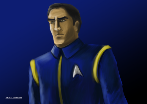 Star Trek Discovery Uniform by Michael-McDonnell