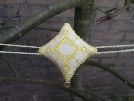 Ornament of the Month - November,  Yellow Topaz by Magical525