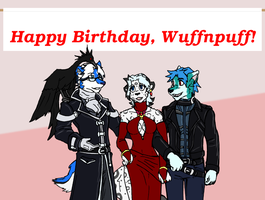 Wuffday 2010 by tapewolf