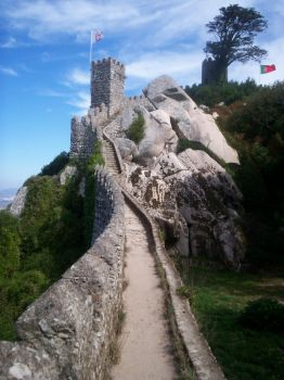 Sintra - Castelo dos Mouros by m0nd3