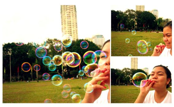 Luneta bubbles by atychiphobe