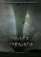 Shark Tornado Movie Poster by FeatheredSoap