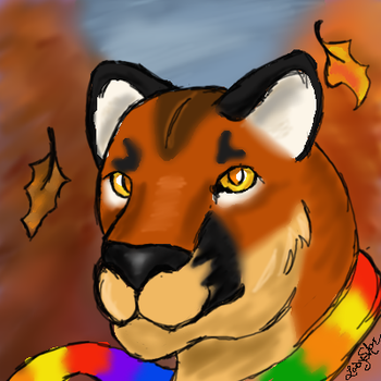 Fall Calico Icon by LadyShar