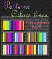 patterns_colorslines by juststyleJByKUDAI