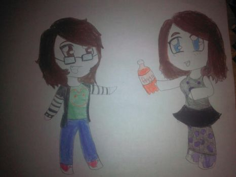 a pic for one of my best friends by animecat237