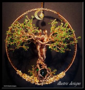 Couple wire tree by illustrisdesigns