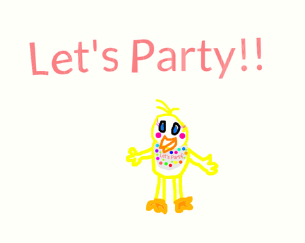 Toy Chica (With Her Beak) 50+ WATCHERS ( Fnaf 2 ) by PEACHY2442
