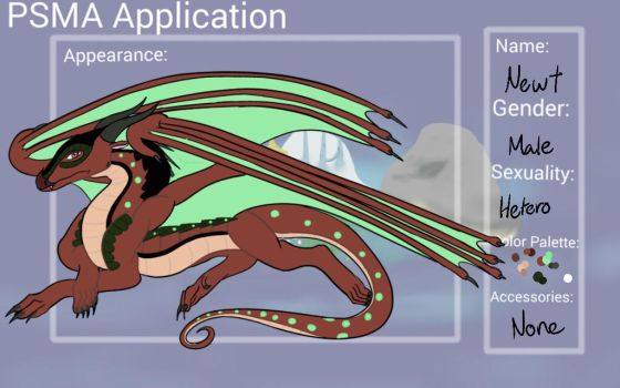 Newt: PSMA Application by GlowingLoudly