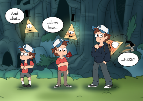 Gravity Falls: Dipper Ages by SlightInsanity