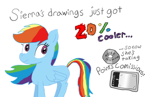 Rainbow Dash Approves by PhillipthePuma