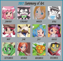 2012 Art Summary by Phoelion