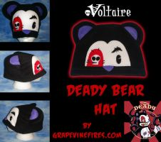 Voltaire Deady Bear Fleece Hat by HatcoreHats