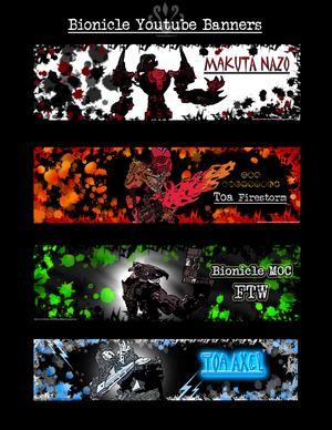 Bionicle YT Banners 2014 by Pearllight180