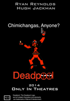 Deadpool Movie Poster Variant by BobTheEgg