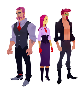 The Braddocks by pretty-cool-huh
