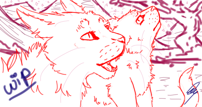 look to silverpelt, it will guide you WIP by BubbletheCat