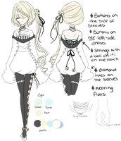 CDR: Chime work outfit by silverblossoms