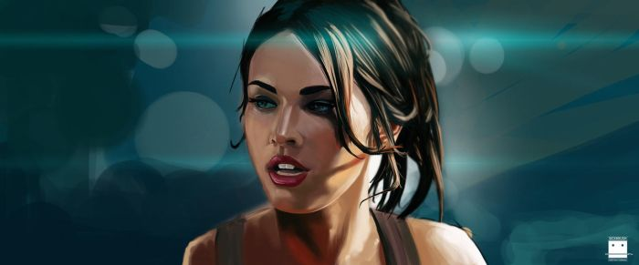 MeganFox by Sickbrush