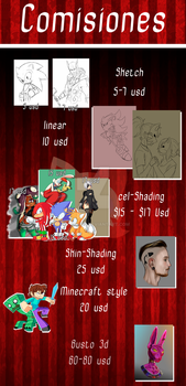 Comisiones Abiertas/ Commission Open by InnSomnio