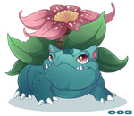 003: Venasaur by Mythka