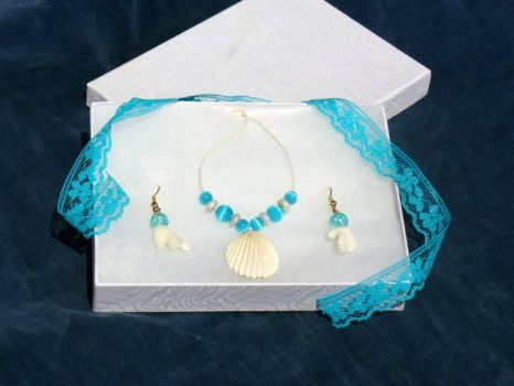 Aussie Sea Jewelry Set by VincaMinor