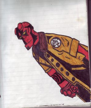 Hellboy 3 by endrom