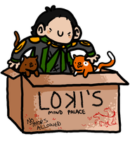 Loki's Mind Palace by geothebio