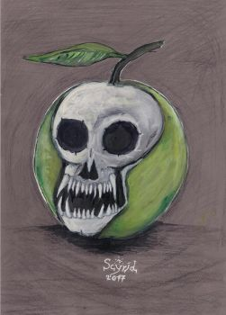 Evil Apple by Scyriel