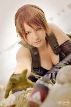 Quiet Cosplay (MGS V) by JuubeiChan