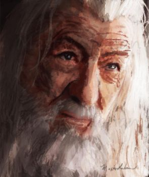 Gandalf by masterrohan