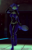 Blue Beauty  [KRYSTAL GMOD SFM MODEL DOWNLOAD] + by warfaremachine