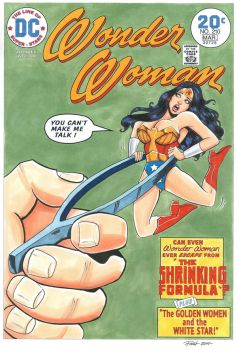 Wonder Woman #210 Cover Recreation by PatrickFinch