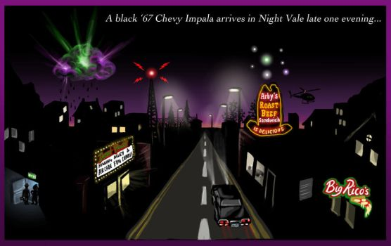 Welcome to Super Night Vale II by blackbirdrose