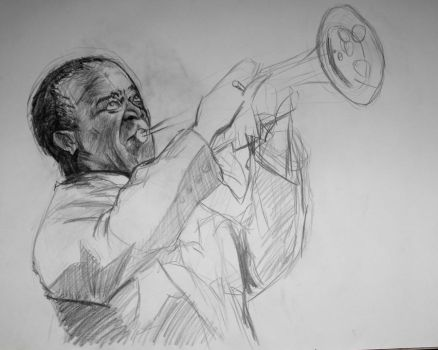 louis armstrong 1 by chiryogatito