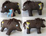 Doctor Hooves plush 2 by Roogna