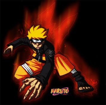 naruto coloo by benky