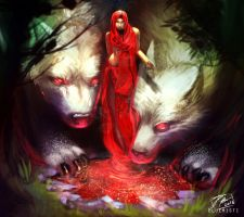 Red and The White by Bluemisti