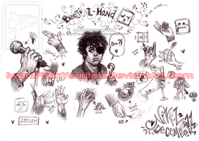 Billie Joe Armstrong Hands by IwannaPissInYourBed