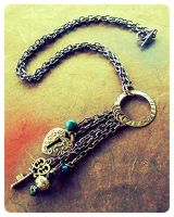 Sold Out: Key To My Heart Necklace by random-wish