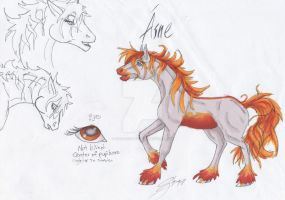 Fire Shire: Aine by HorseCookies