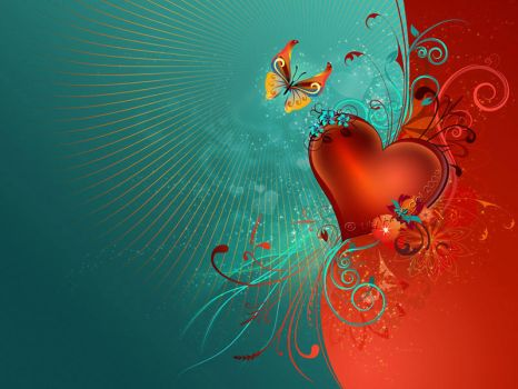 Valentine's Heart - WP by Lilyas