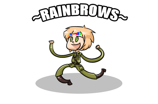 Rainbrows by the-sock-ninja