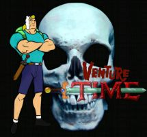 Venture Time with Brock The Human by Retroabortion