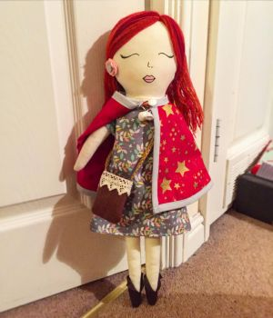 Rag Doll - converts to mermaid by StitchItMama