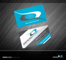 ZeroGStudio Business Card by ZeroGG