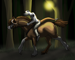 Through the Woods by BlueLadyAces